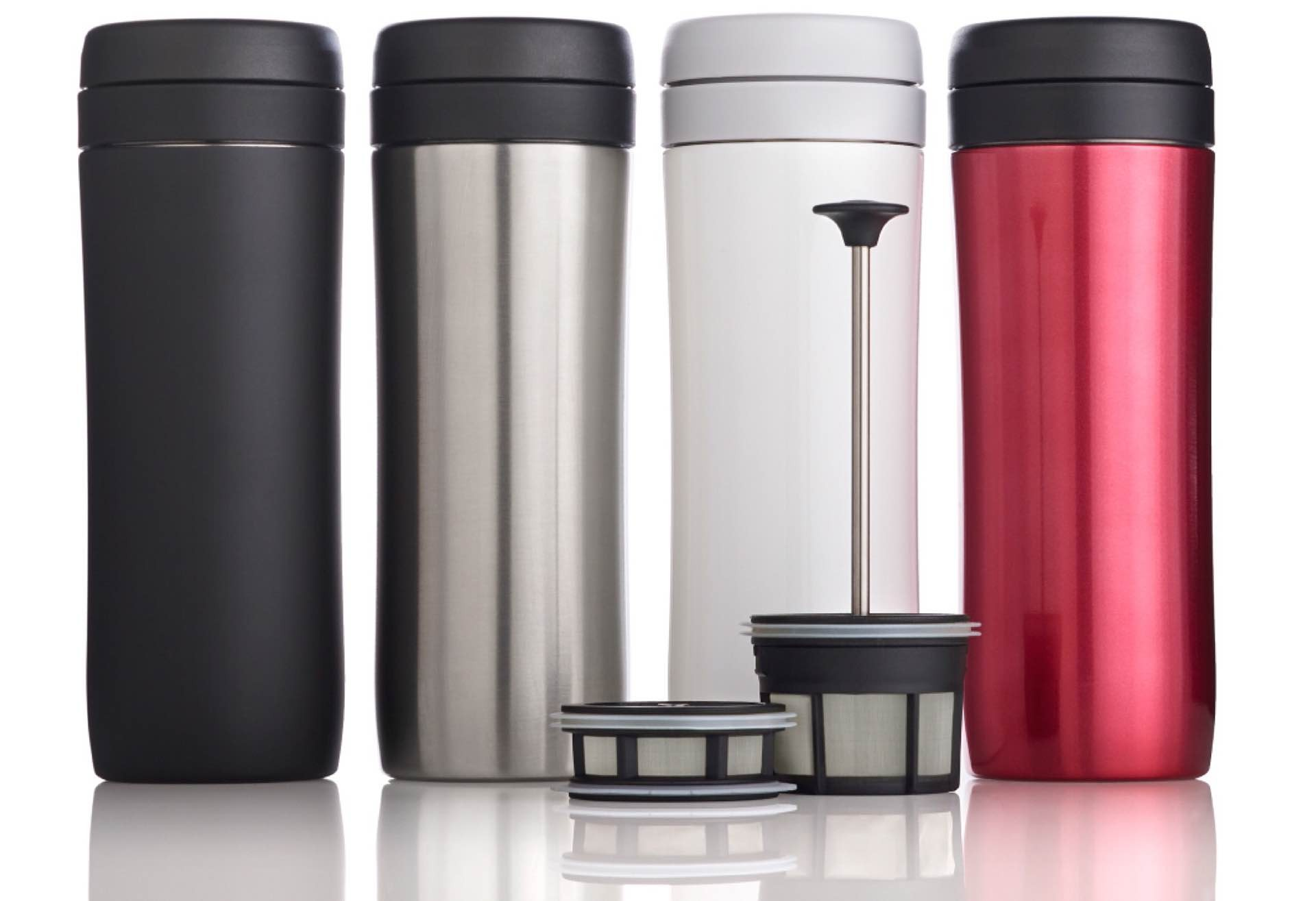 Espro's Coffee Travel Press. ($27–$33, depending on color)
