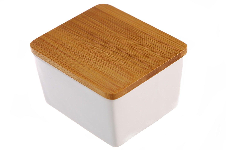 Dash of Bleu ceramic salt box. ($15)