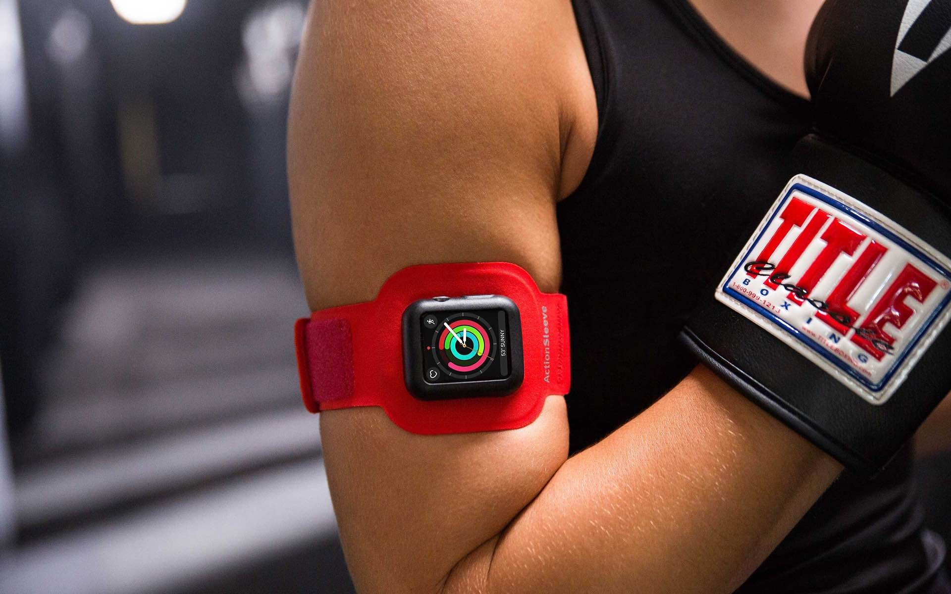 Twelve South's ActionSleeve armband for Apple Watch. ($30)