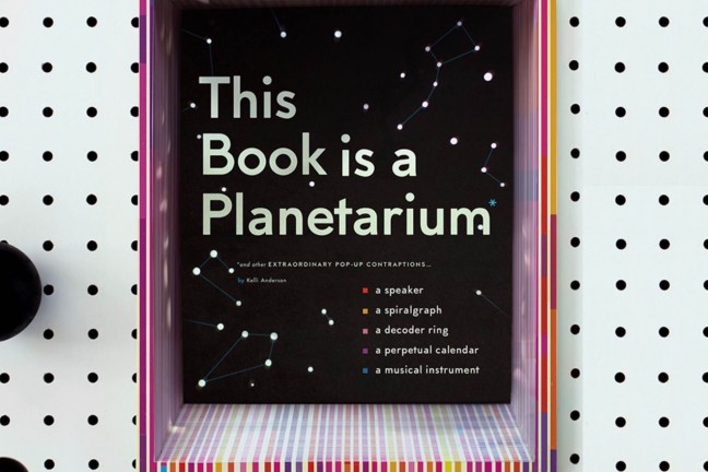 This Book is a Planetarium by Kelli Anderson ($26 pre-order; releases October 3rd, 2017)