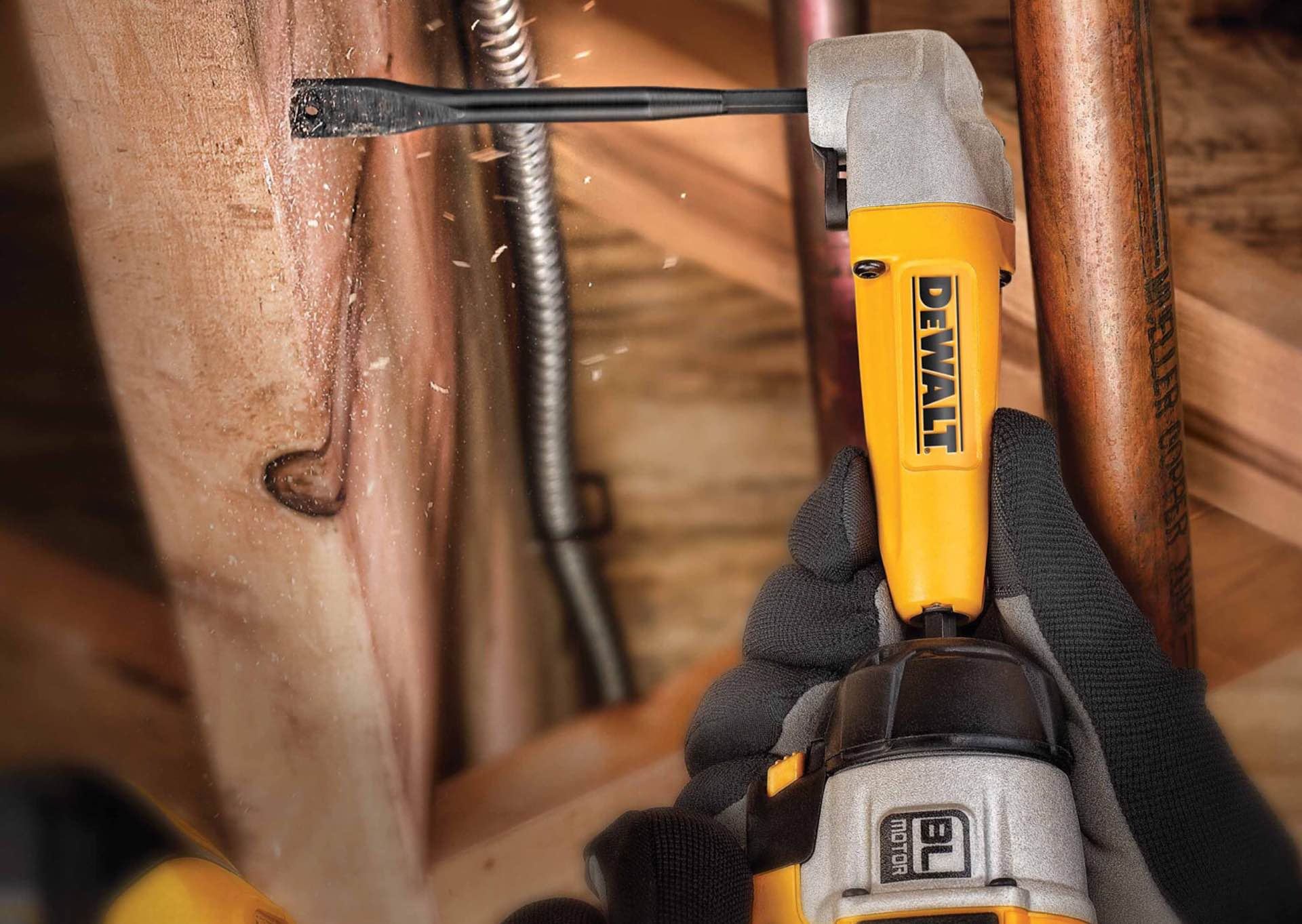 Dewalt's right-angle drill attachment. ($18)