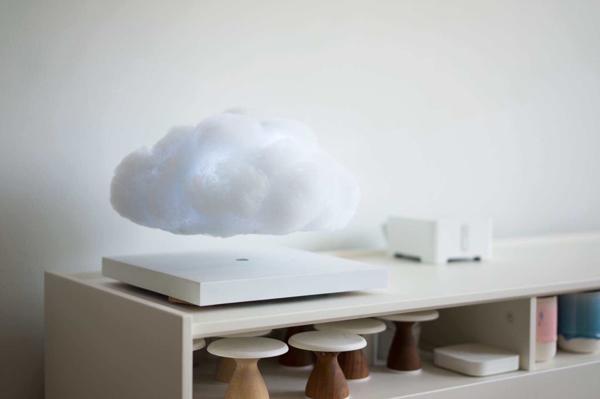 The Floating Cloud lamp by the Richard Clarkson Studio. ($4,620)