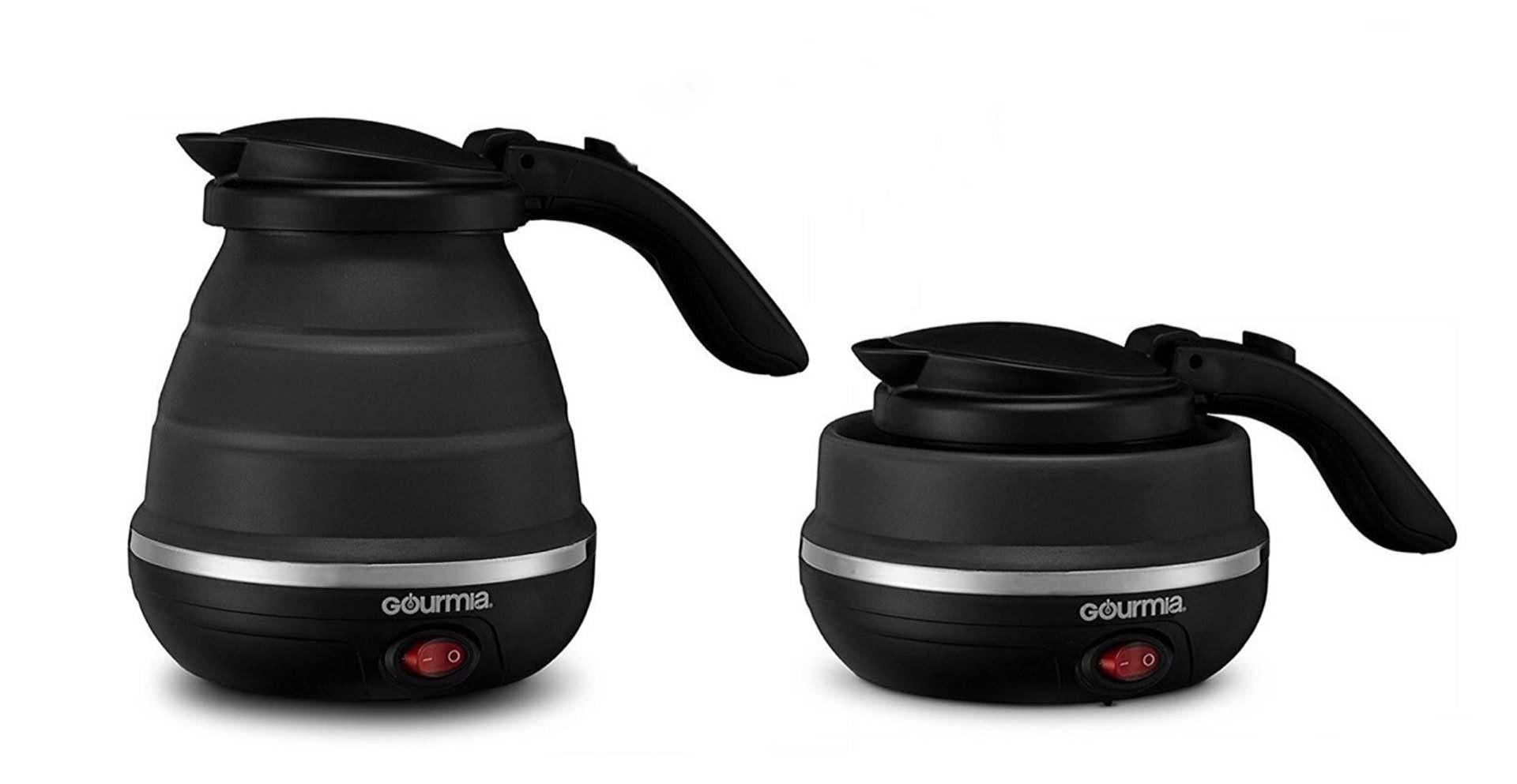 Gourmia foldable travel electric kettle. ($30)