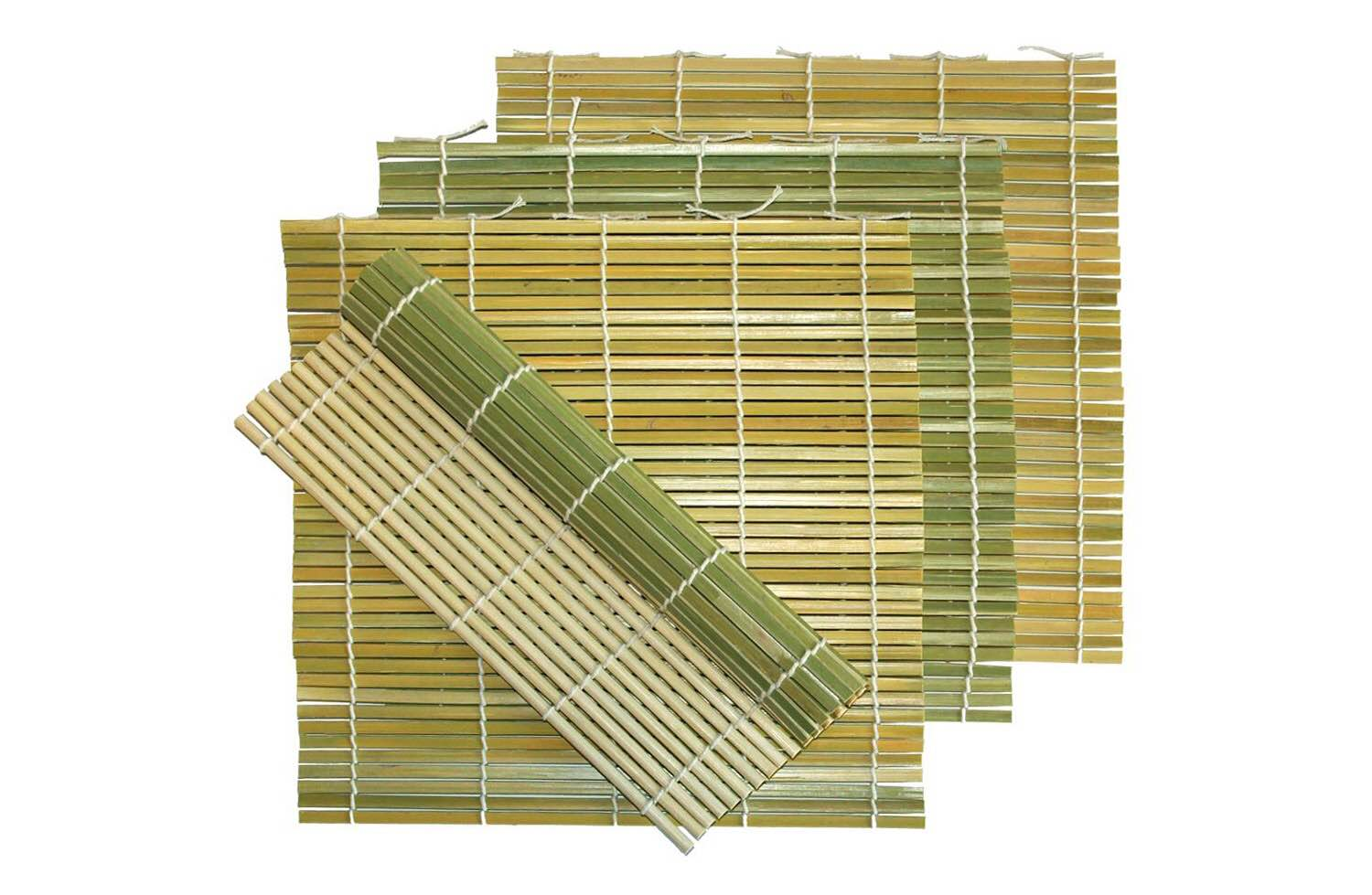 MBW Northwest's green bamboo sushi mats. ($16 for a pack of four)