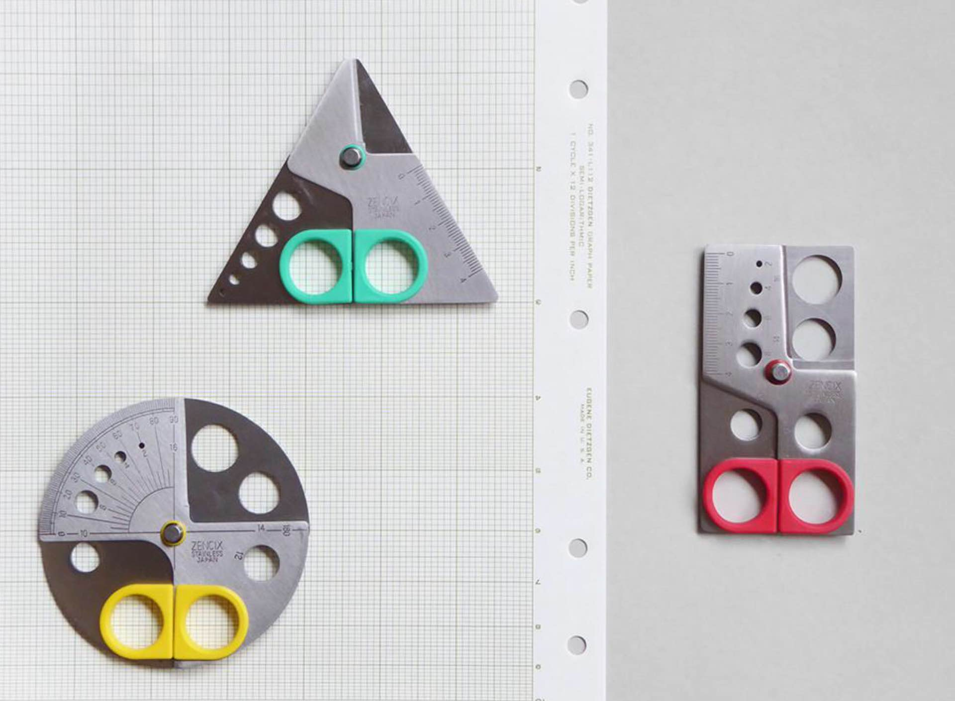 "Zencix's ""Trisqule"" scissors. (£18 / ~$25 USD each)"