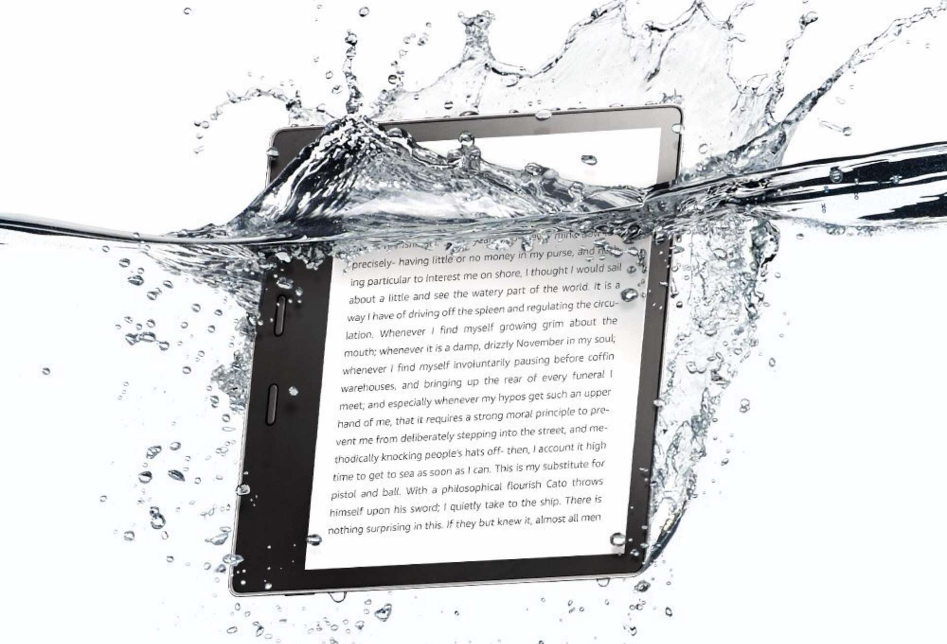The Kindle Oasis. ($250)