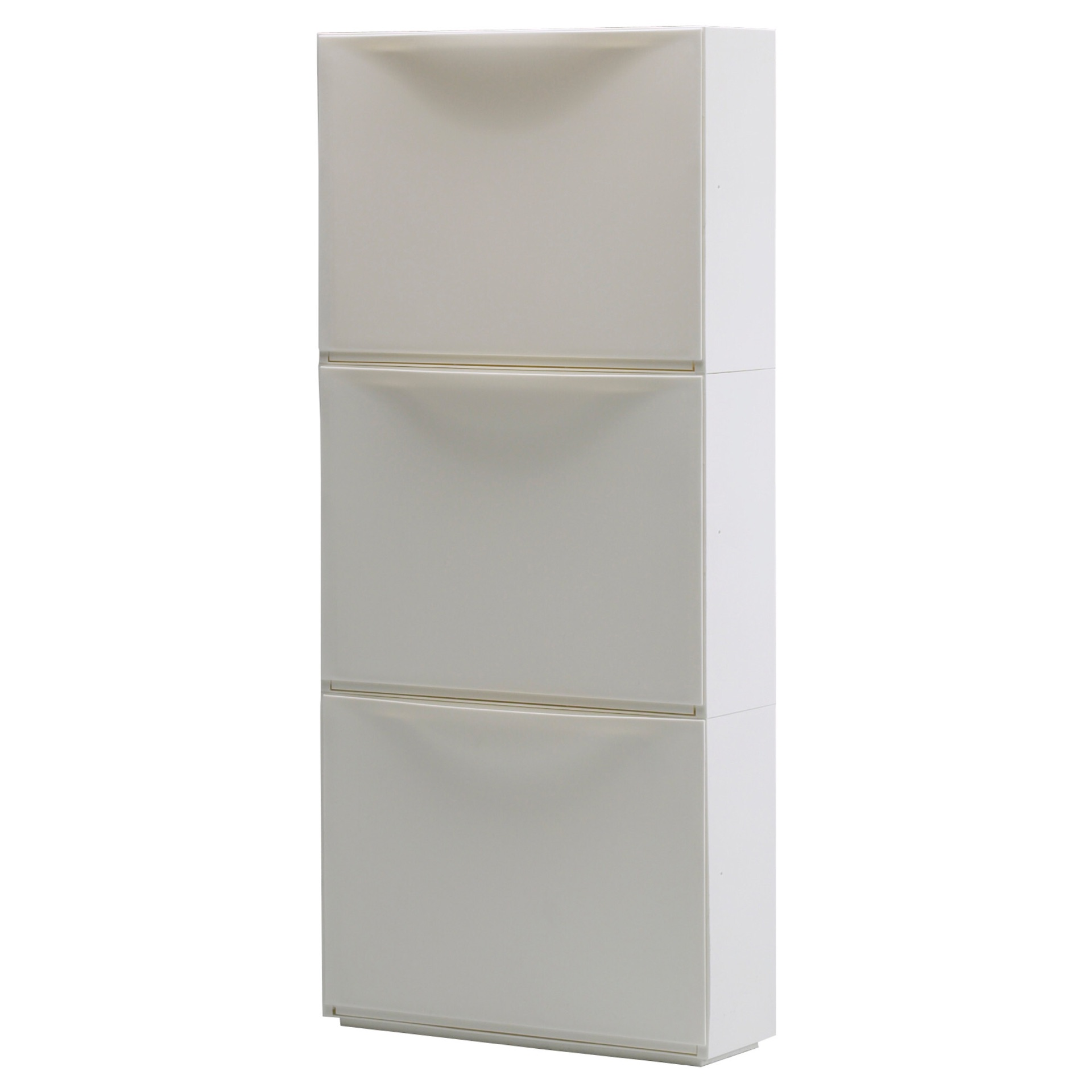 TRONES shoe/storage cabinets ($40 for a 3-pack)