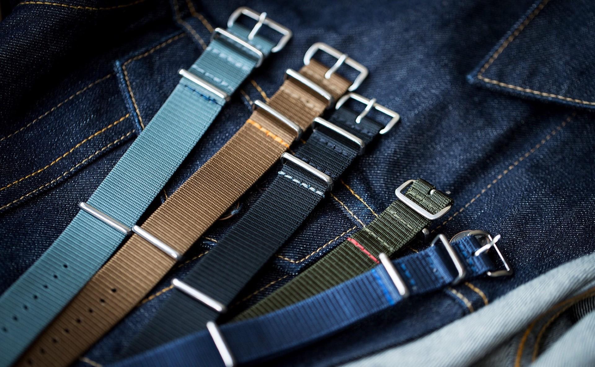 Worn & Wound ADPT watch straps. ($42 each)
