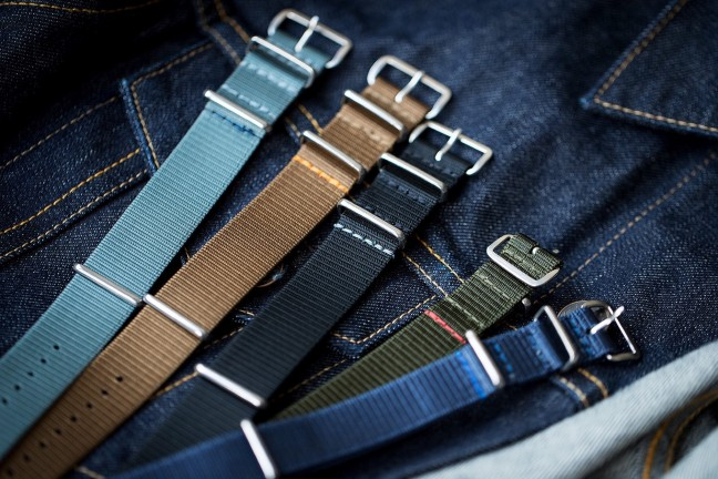 Worn & Wound ADPT watch straps. ($42 each)