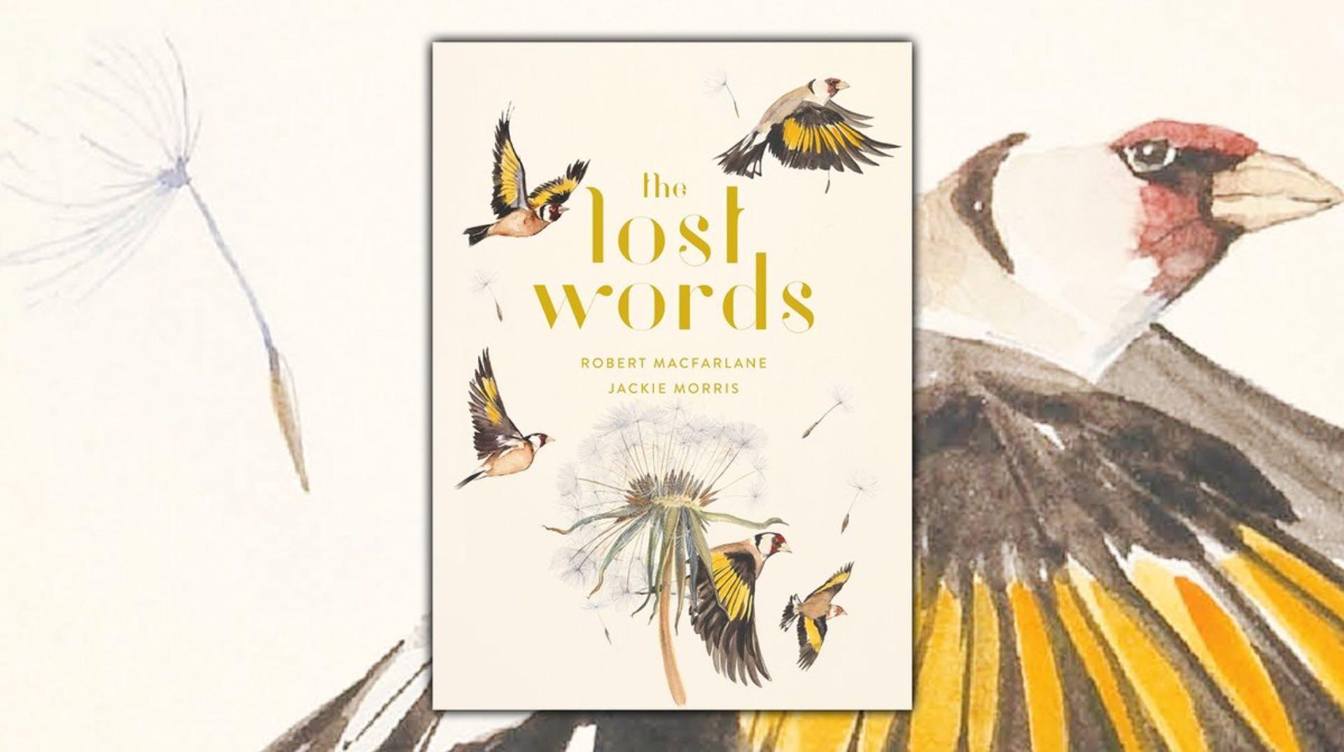 The Lost Words by Robert Macfarlane and Jackie Morris. ($26 hardcover)