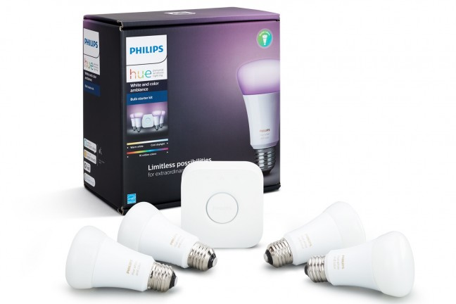 Philips Hue starter kit. ($194)