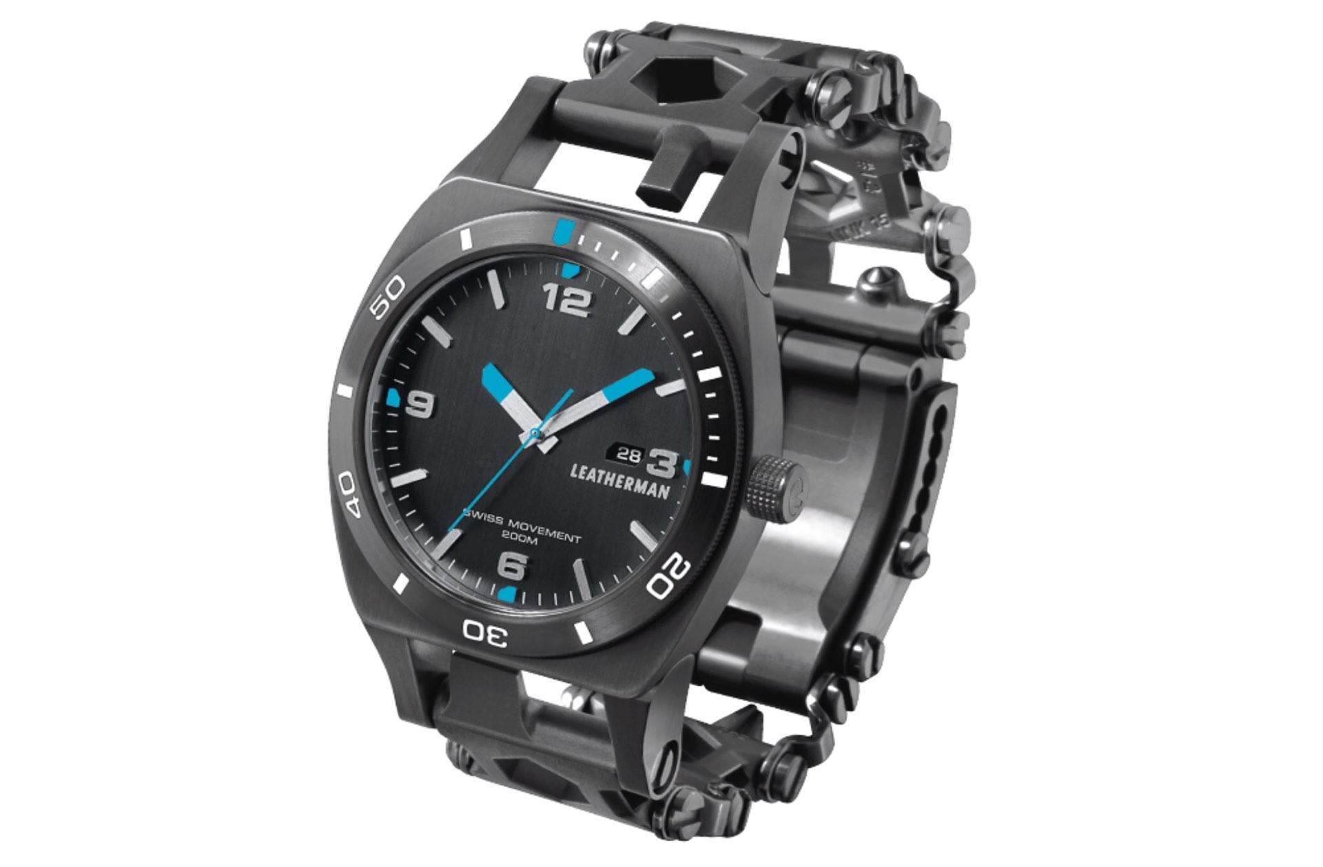 Leatherman's Tread Tempo multi-tool watch. ($450)