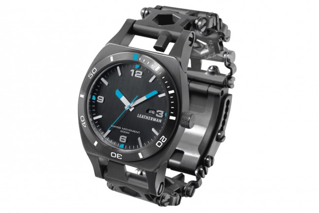 Leatherman's Tread Tempo multi-tool watch. ($450)