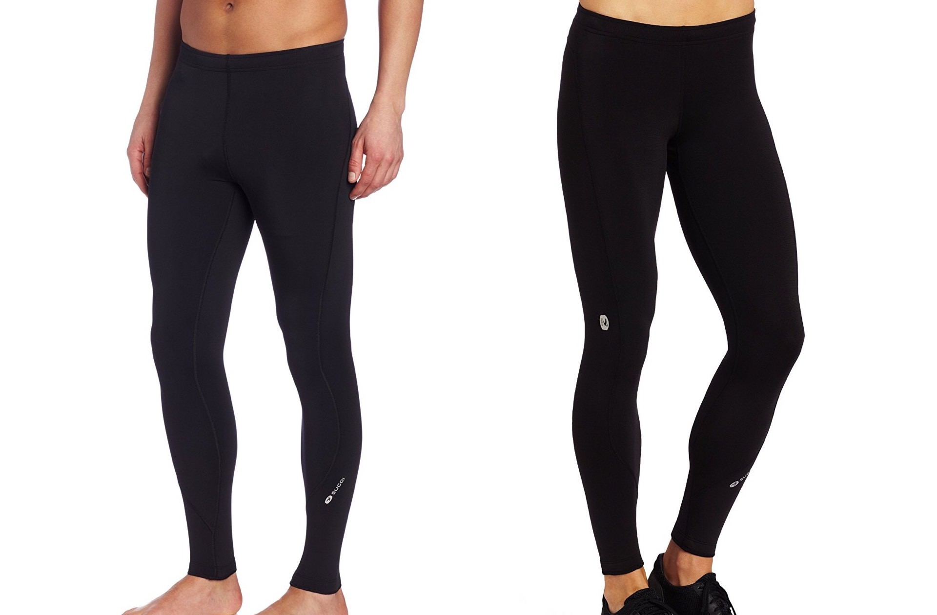 "Sugoi ""MidZero"" running tights. (currently $50 for men's, $85 for women's — and no, we don't know why)"