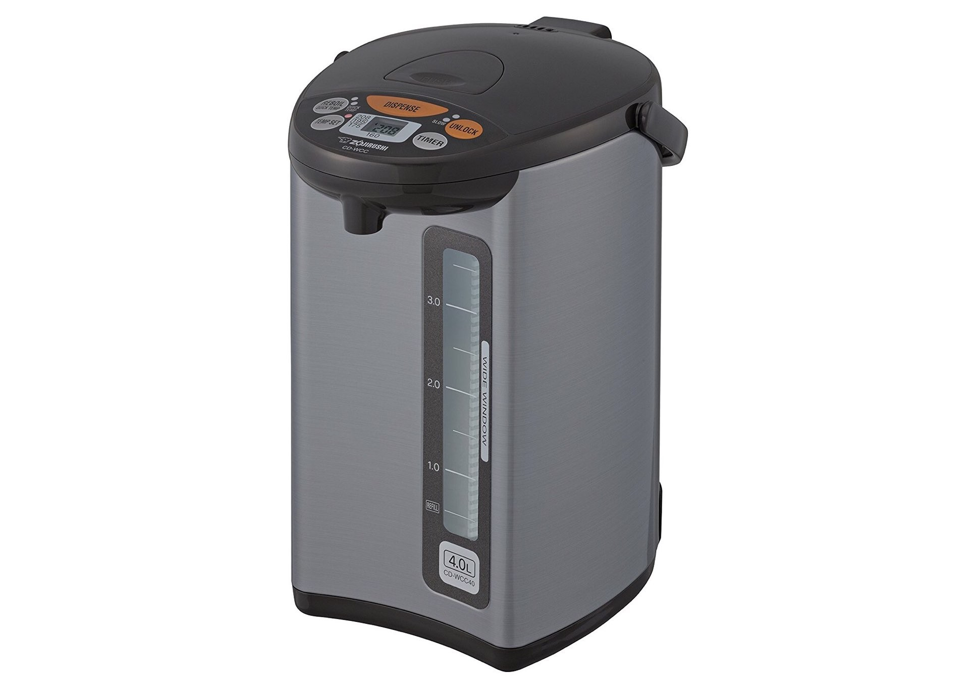 Zojirushi CD-WCC40 water boiler and warmer. ($128)