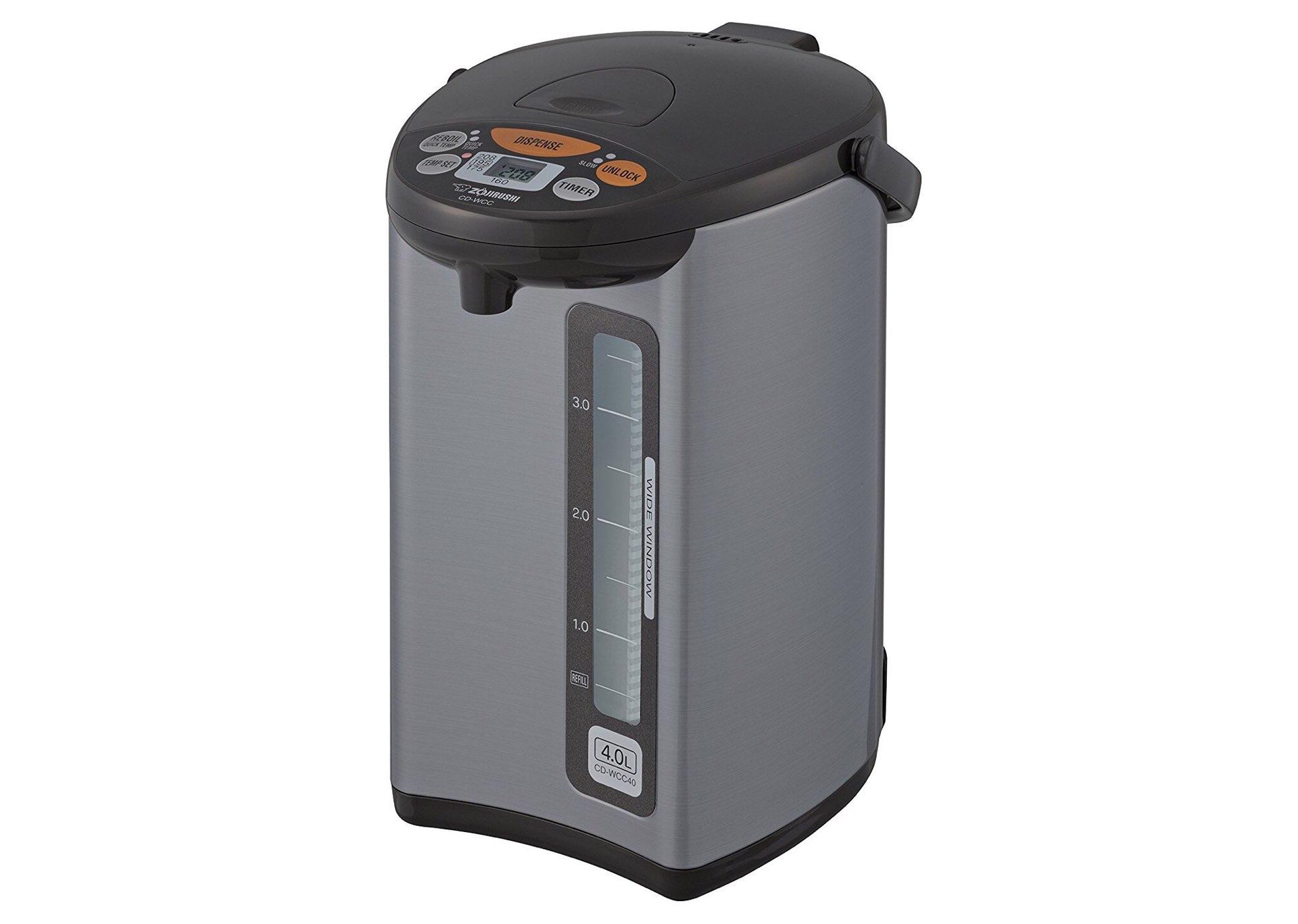 Zojirushi CD-WCC40 water boiler and warmer. ($128)