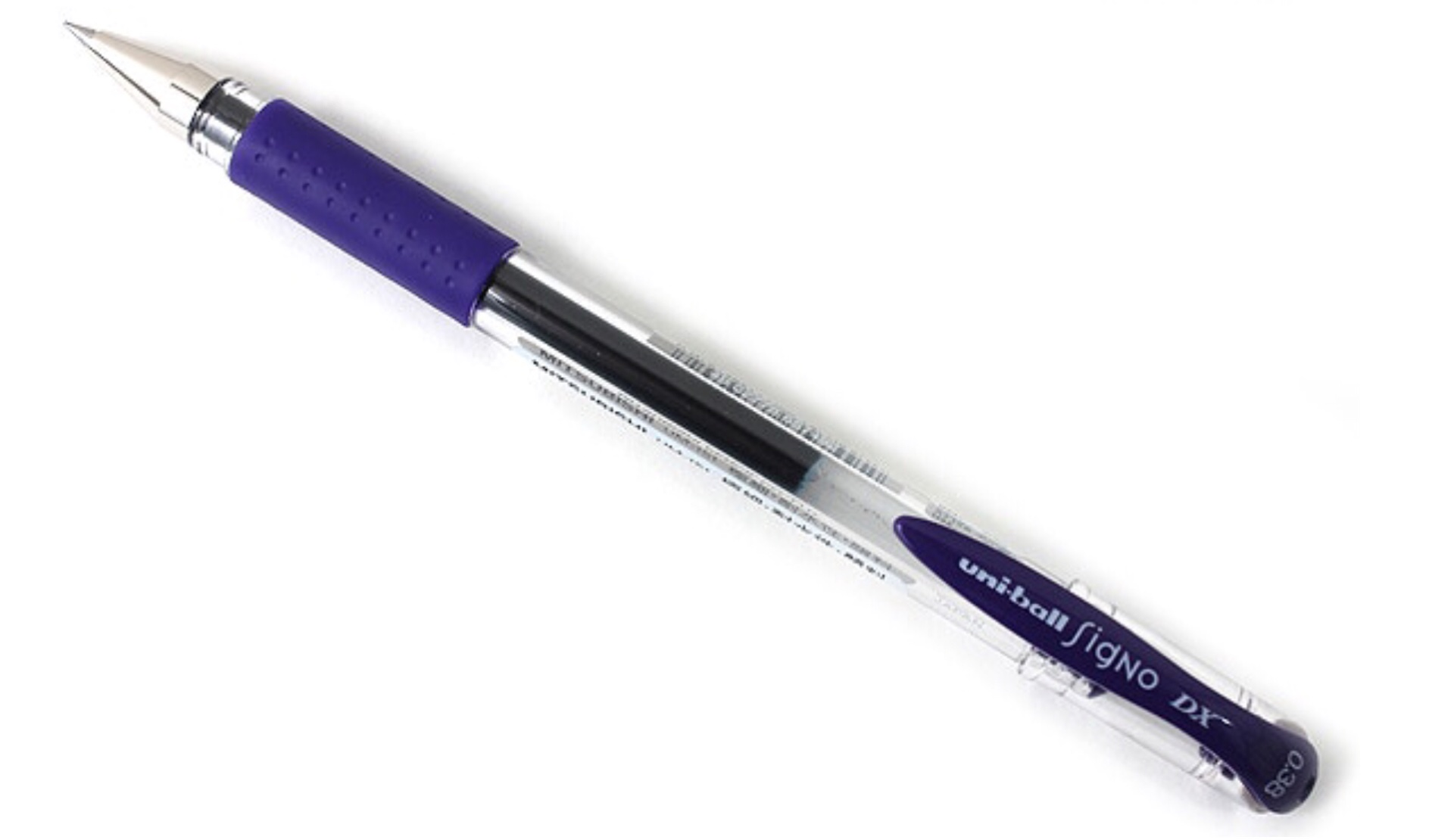 uni-ball-signo-dx-gel-pen-in-lavender-black