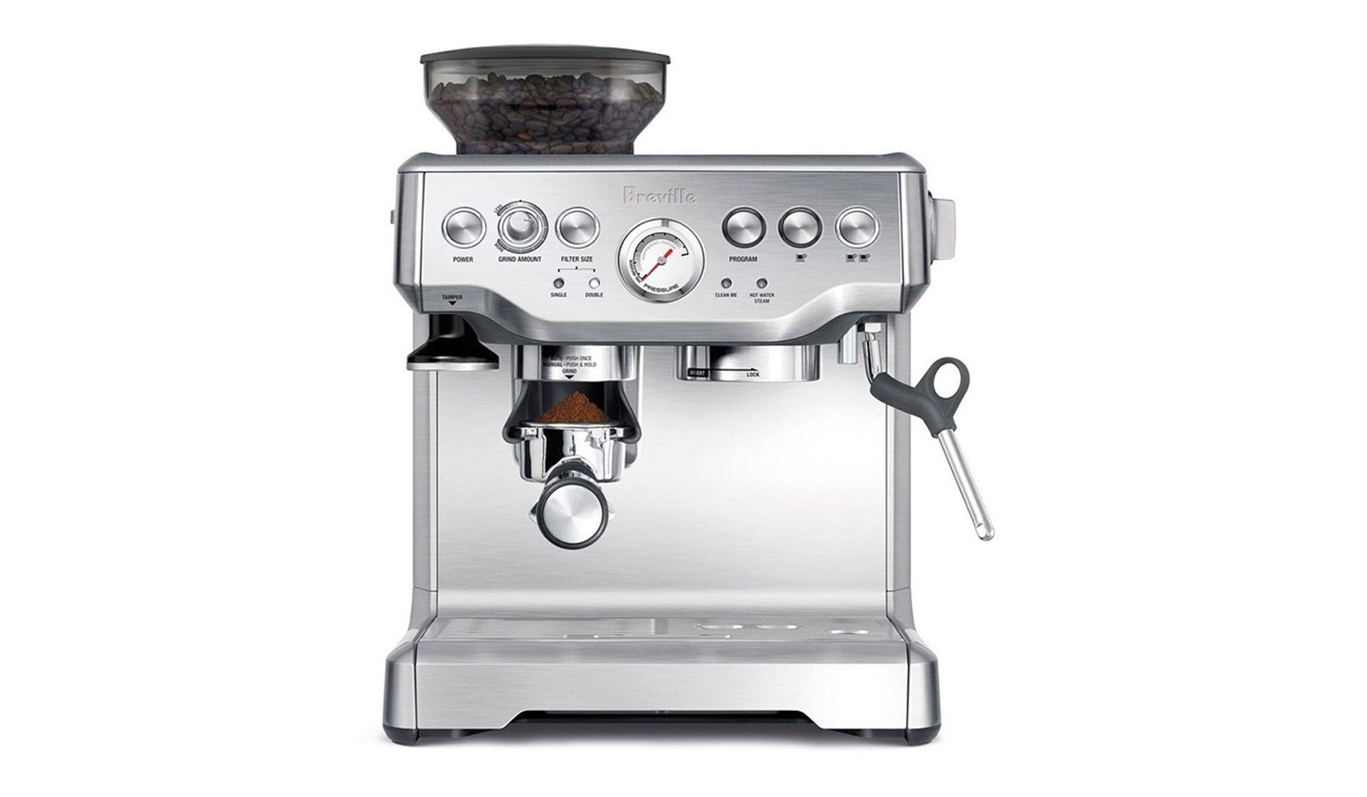 Breville Barista Express espresso machine. ($599)