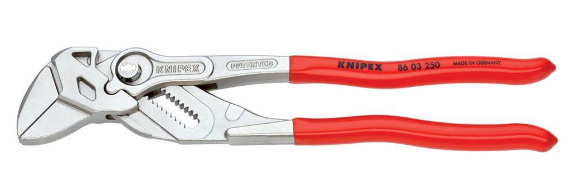 """Knipex 10"""" pliers wrench. ($54)"""