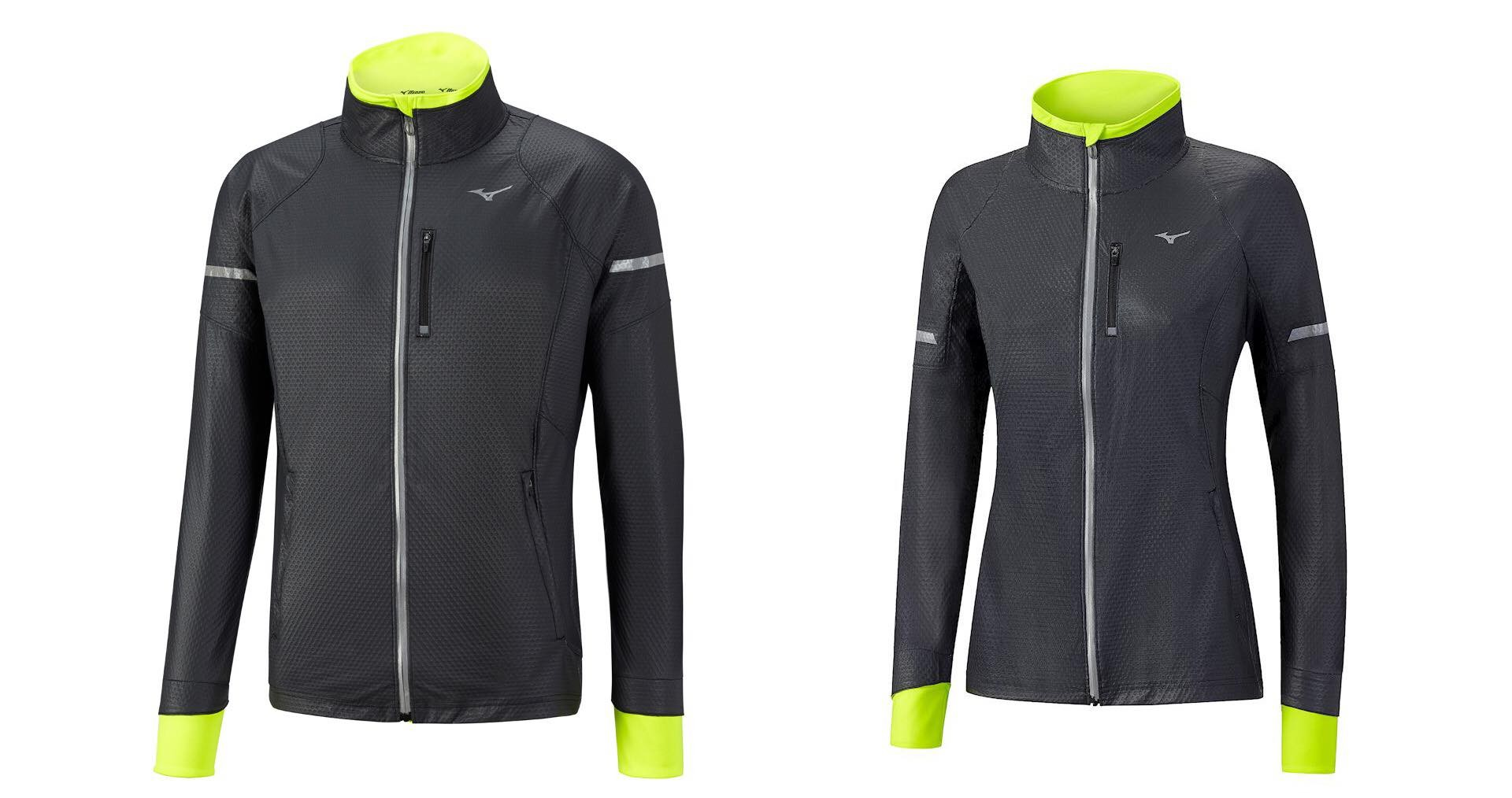 "Mizuno ""Static Breath"" Thermo Softshell Jacket. ($165 for both men's and women's styles)"