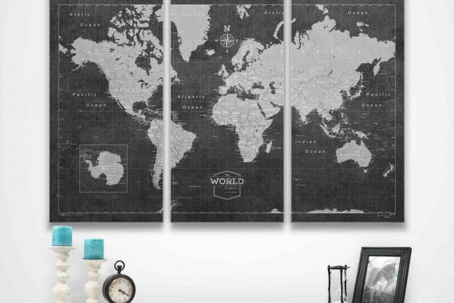 conquest-maps-modern-slate-world-travel-pinboard-map-48x32