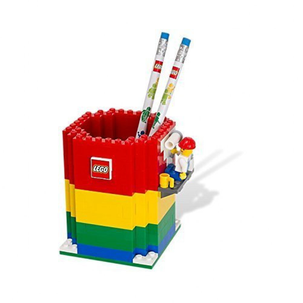 LEGO Pencil Holder — Tools and Toys