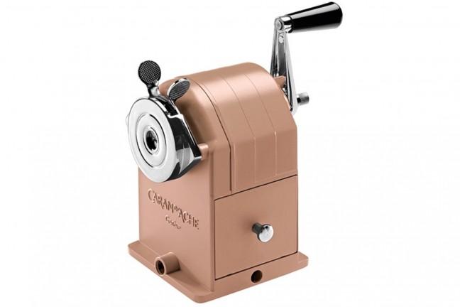 caran-dache-matterhorn-brut-rose-pencil-sharpening-machine