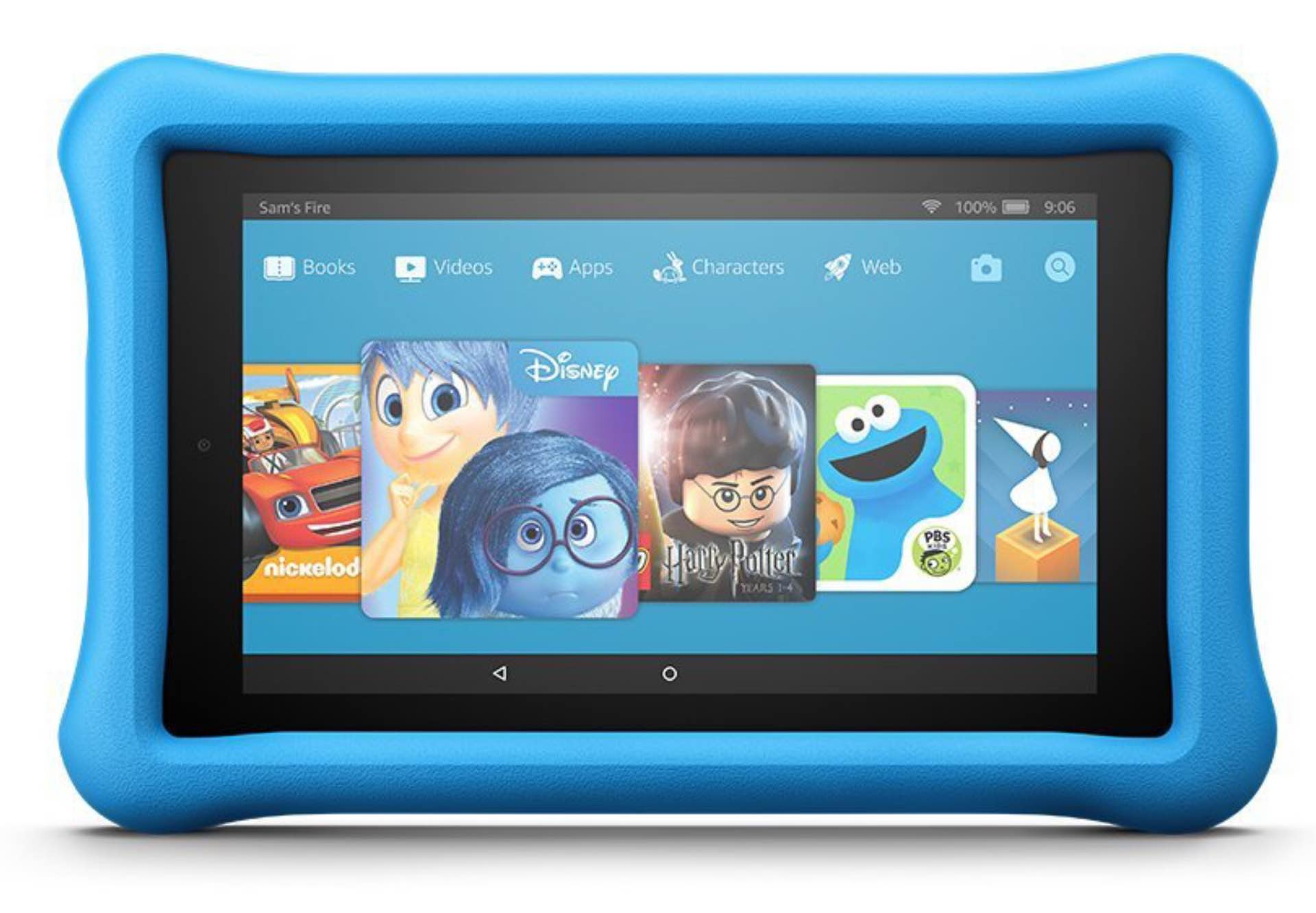 The Kindle Fire 7 — Kids Edition tablet. ($80)