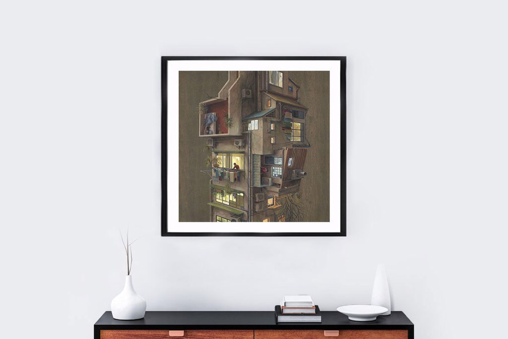 urban-evening-print-by-cinta-vidal-x-colossal-2