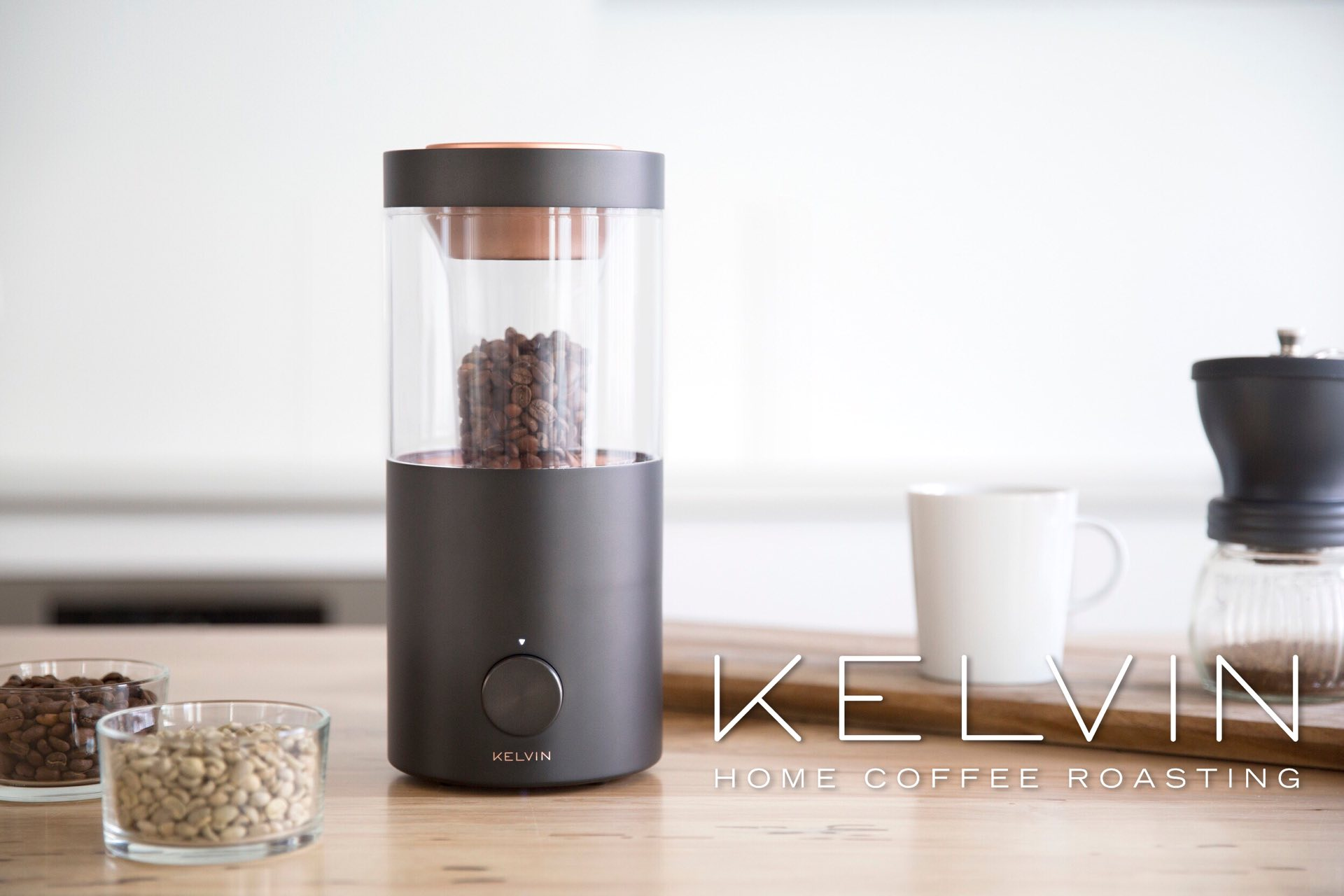 kelvin-home-coffee-roaster