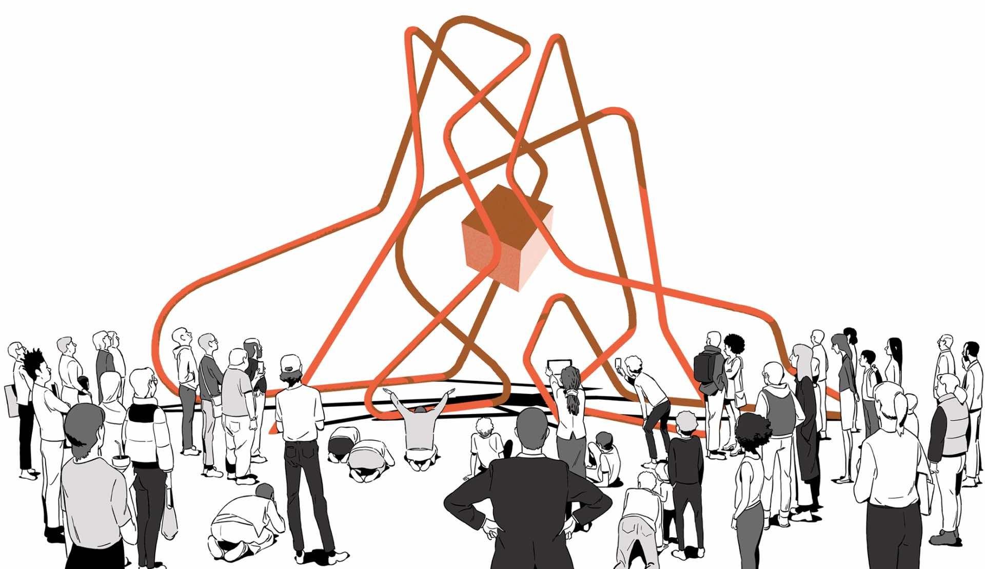 Illustration: Jonathan Djob Nkondo, Bloomberg Businessweek