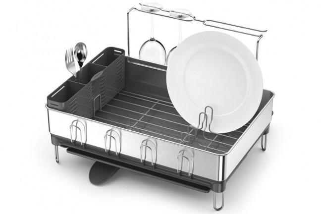 simplehuman-steel-frame-dish-rack