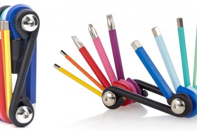 Kikkerland's rainbow multi-tool. ($20)