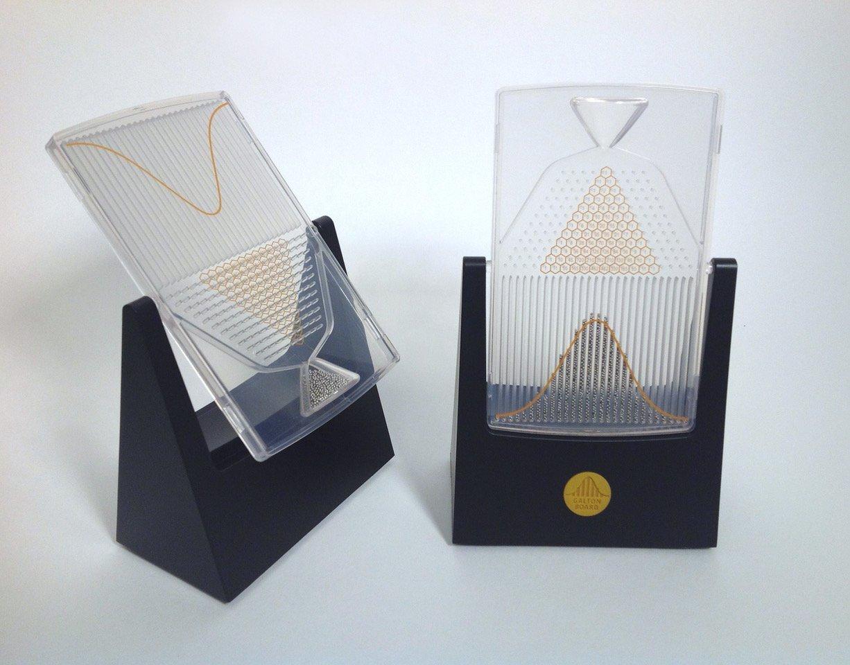 The Galton Board desktop probability machine. ($50)