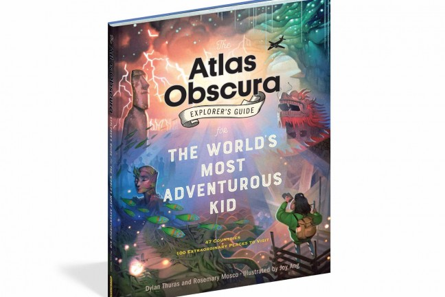 Atlas Obscura's Explorer's Guide for the World's Most Adventurous Kid. ($14 hardcover)
