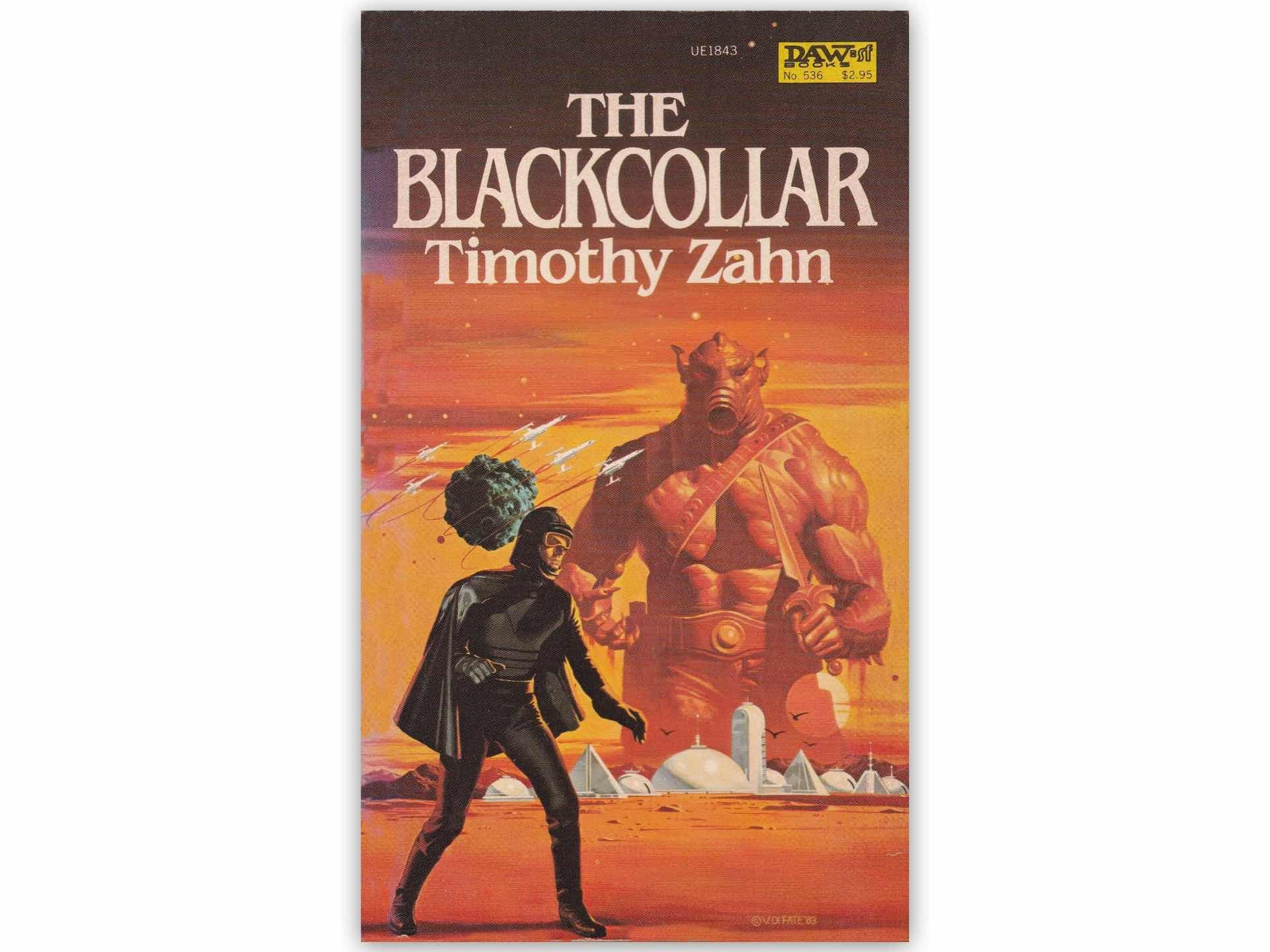 The Blackcollar series by Timothy Zahn.