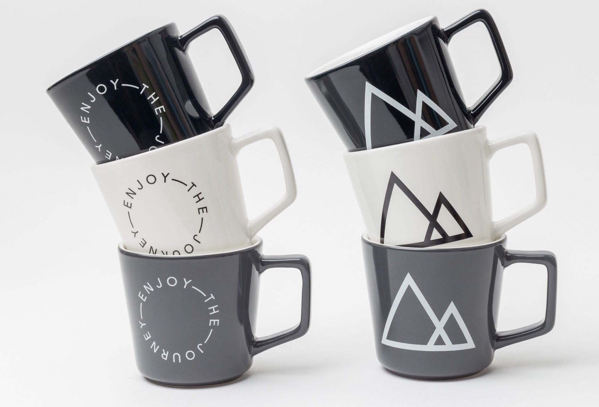 Ugmonk's latest set of coffee mugs. ($119 for the full set; other prices listed below)