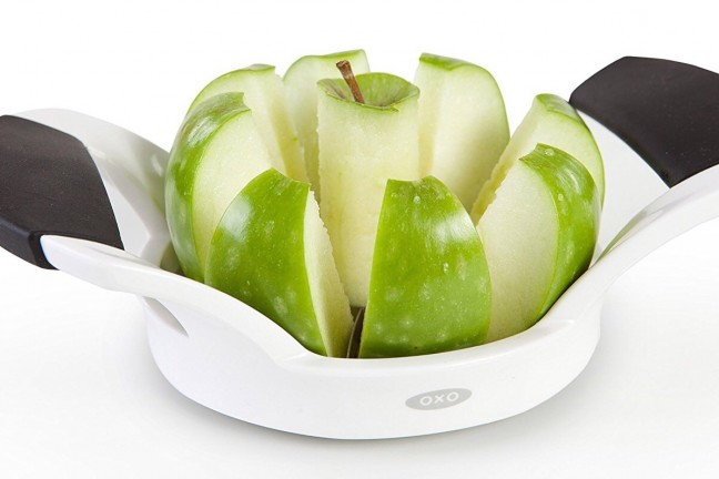 OXO Good Grips apple slicer. ($10)