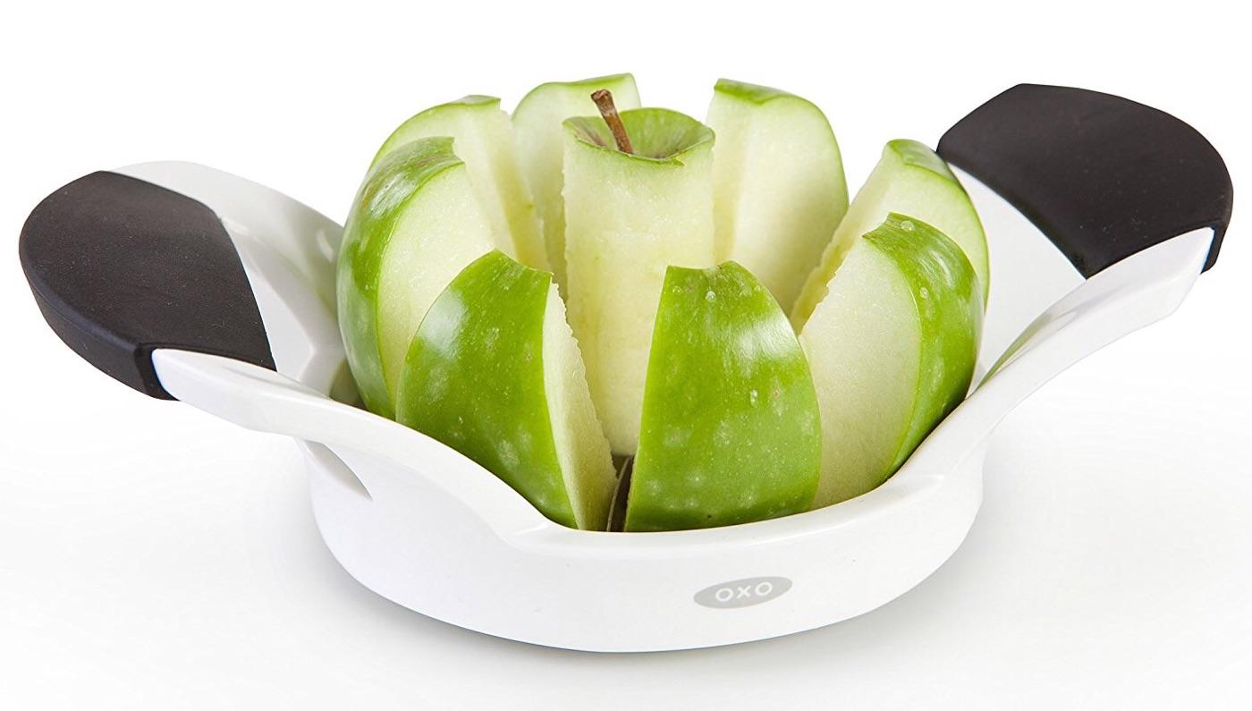 OXO Good Grips apple slicer. ($10)