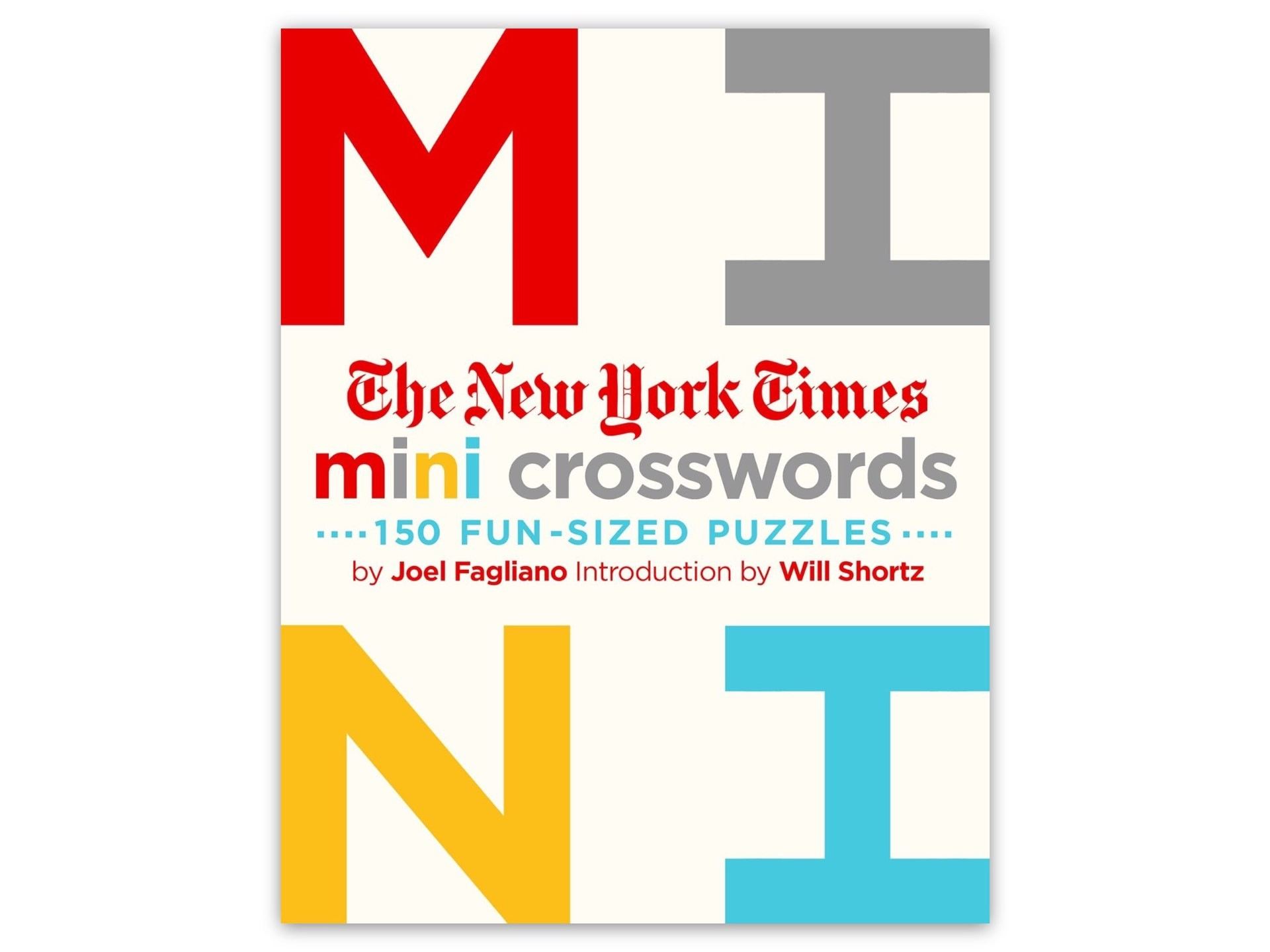 The New York Times' Mini Crosswords, Volume 1. ($10)