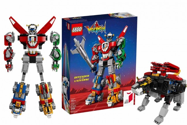 LEGO Ideas Voltron set. ($180)