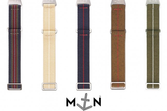 "Erika's Originals ""MN"" parachute watch straps. (from €50 / ~$58 USD)"