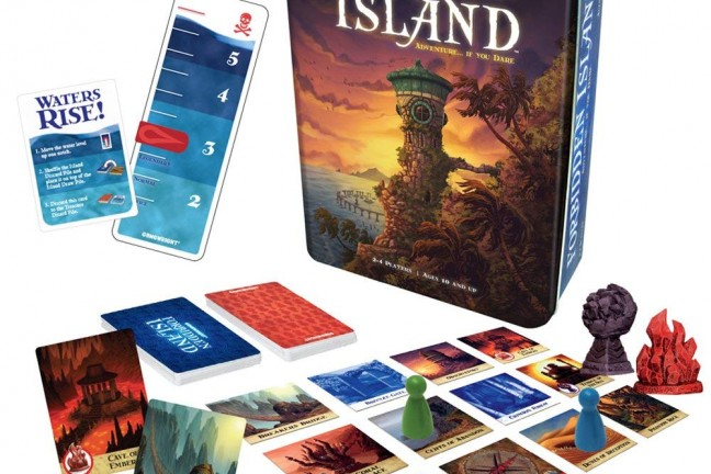 The Forbidden Island card game. ($18)