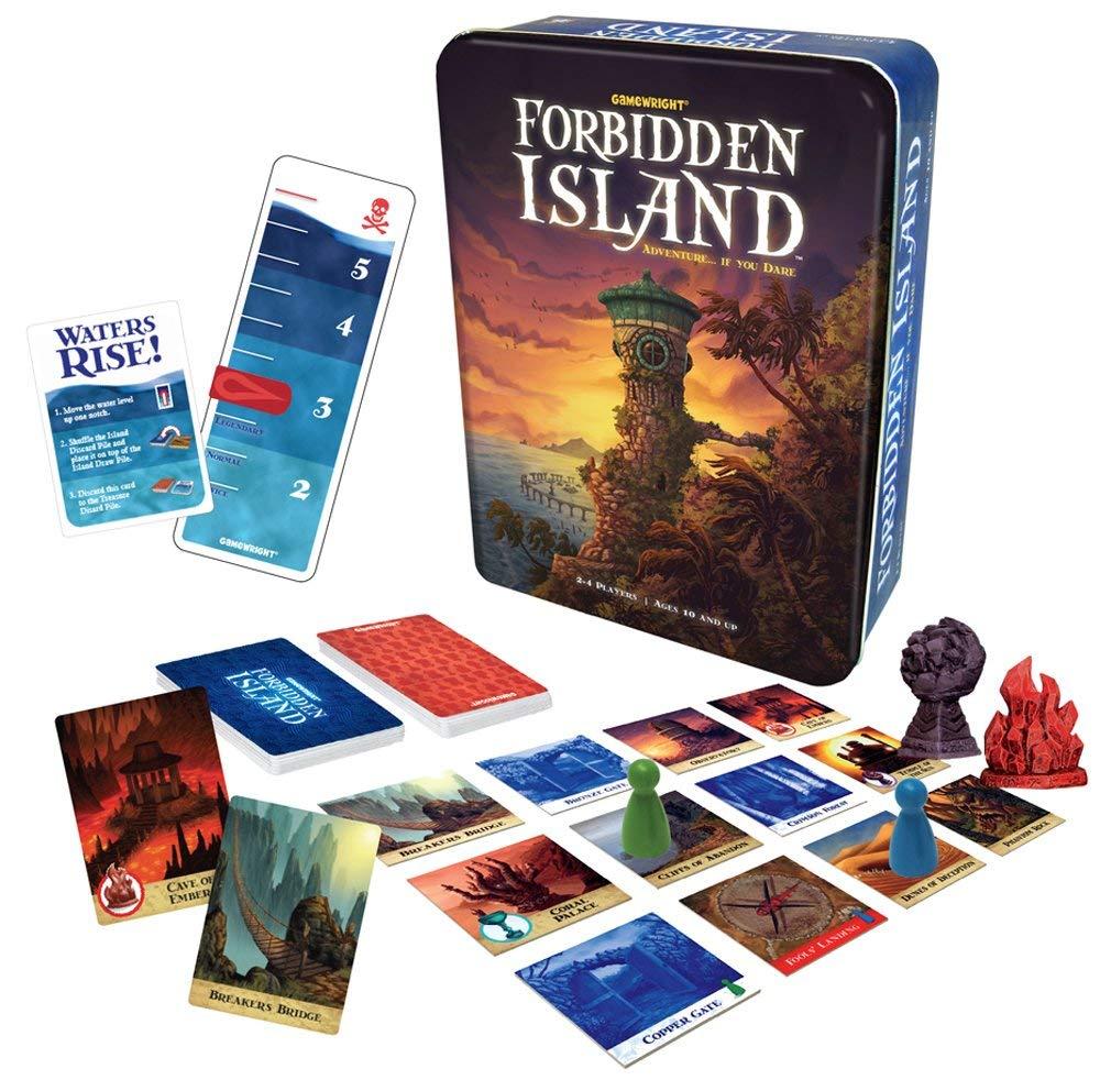 The Forbidden Island card game. ($18)