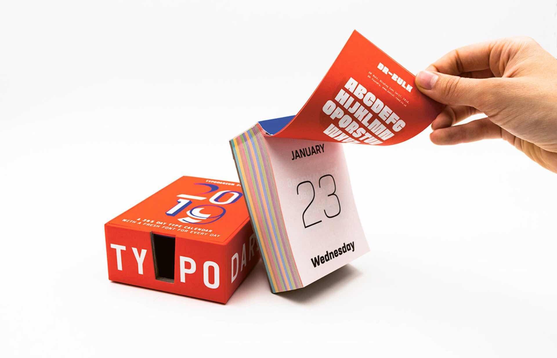 typodarium-calendar-2019