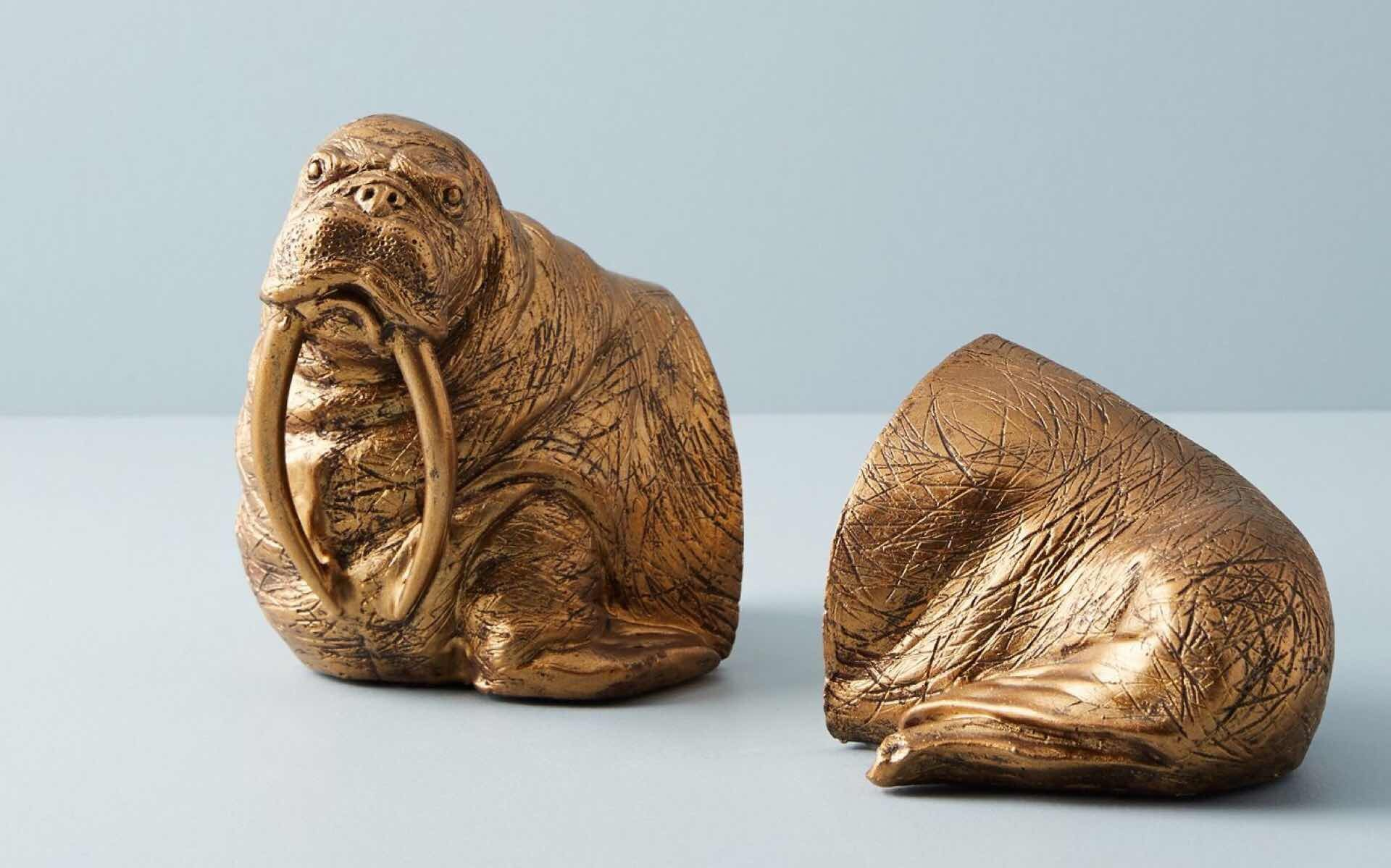anthropologie-walrus-bookends-2