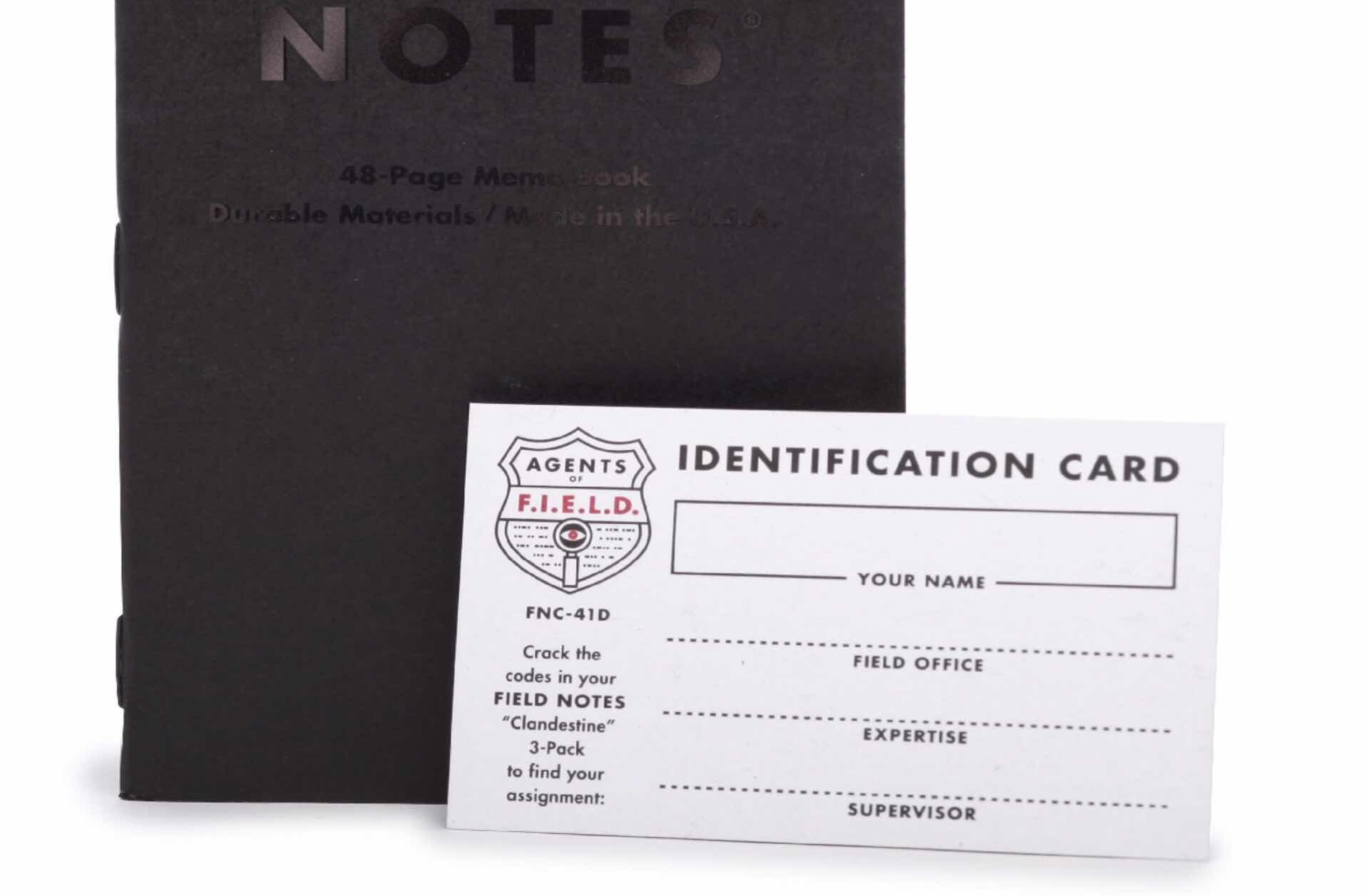 field-notes-clandestine-edition-agent-card