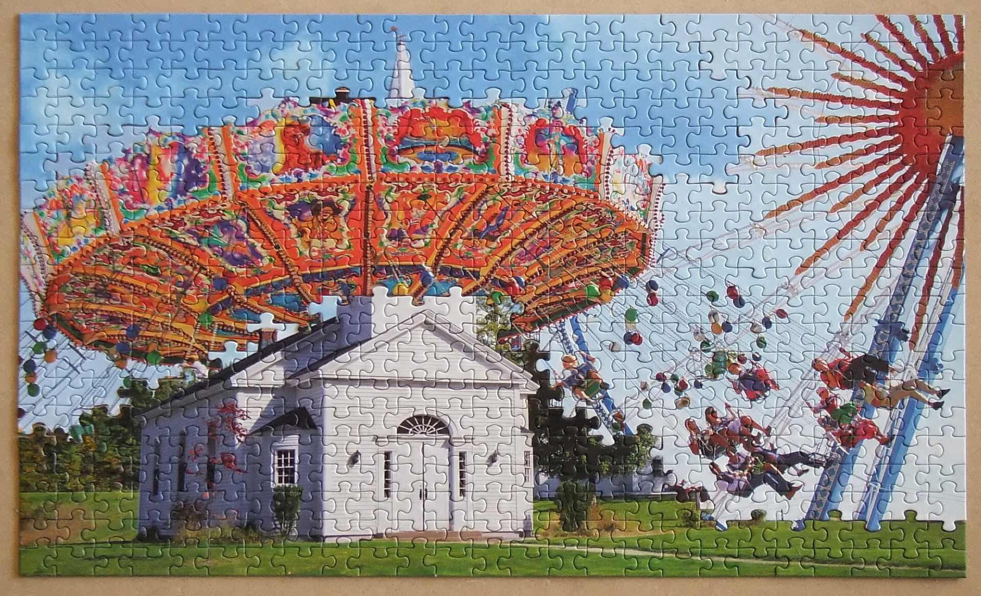 Puzzle montage by Tim Klein