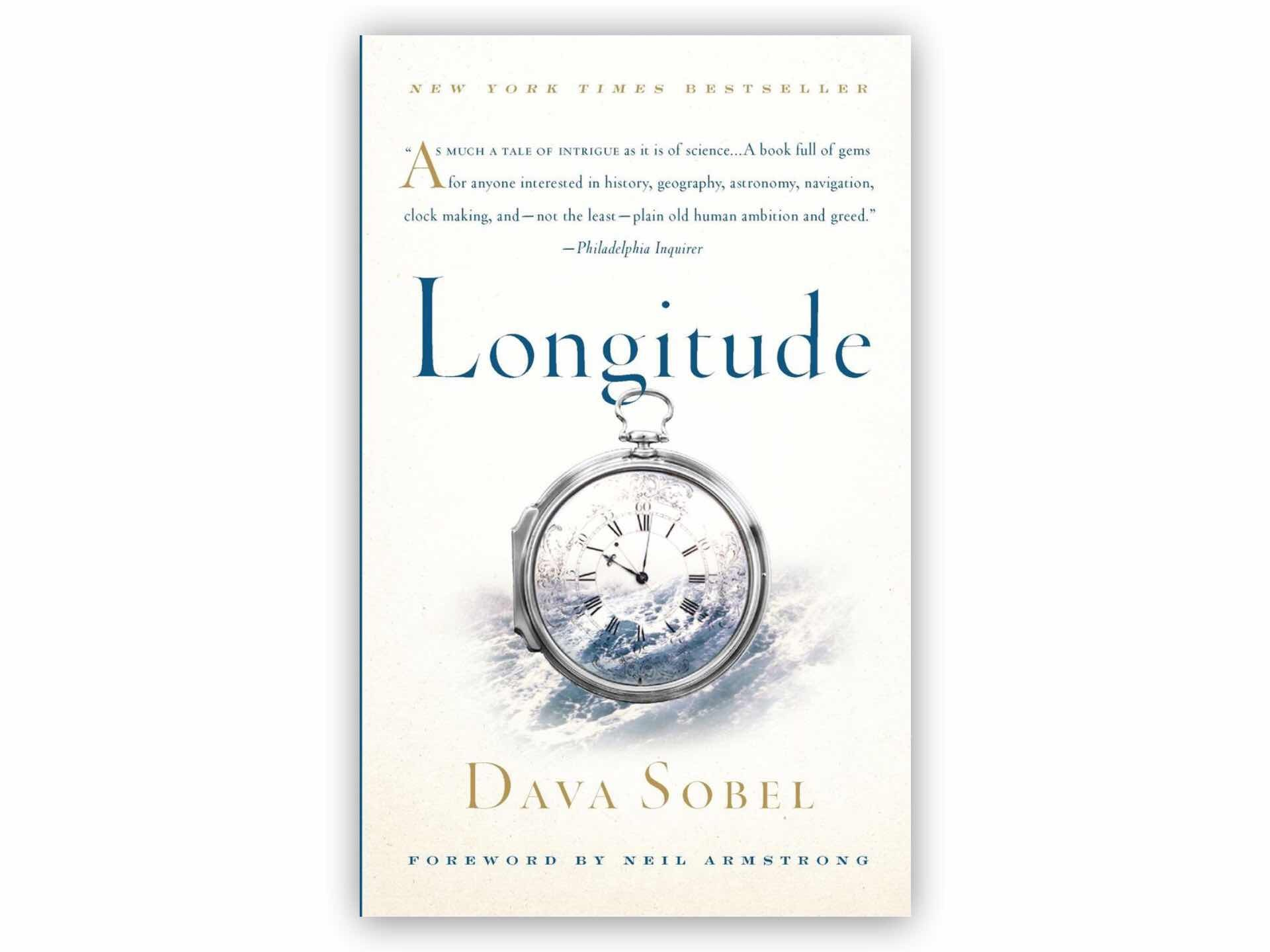 Longitude by Dava Sobel. ($17 hardcover, $13 paperback, and $71 illustrated edition)