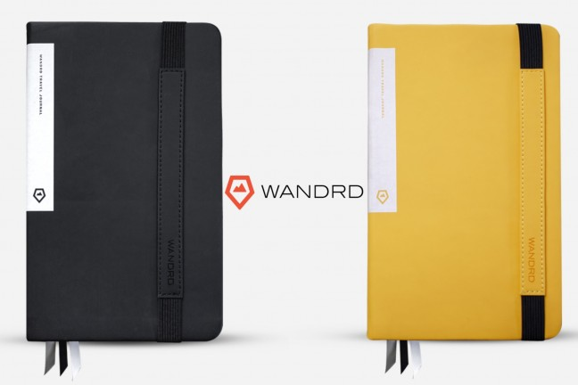 WANDRD travel journal. ($35 in black or yellow)